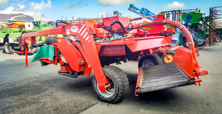Mowers, rakes and tedders: Prices revealed from FTMTA auction
