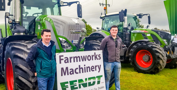 Newest face of Fendt out in force at weekend beet demo