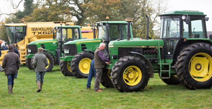 Auction report: Video, pics and prices from 'tidy' tractor and machinery sale