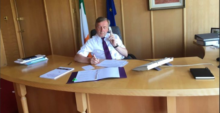 Creed announces department budget of €1.6 billion
