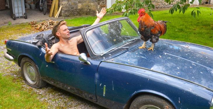 Ireland's 'model' farmers bare almost all for calendar