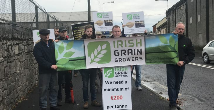 Further protests in the pipeline for Irish Grain Growers Group