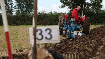 Wexford man Martin Kehoe ploughs to victory at NI Ploughing Championship