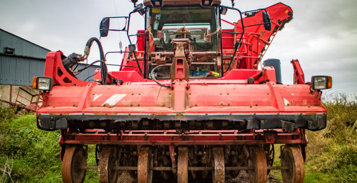 6-row Grimme beet giant is one of a kind in Northern Ireland