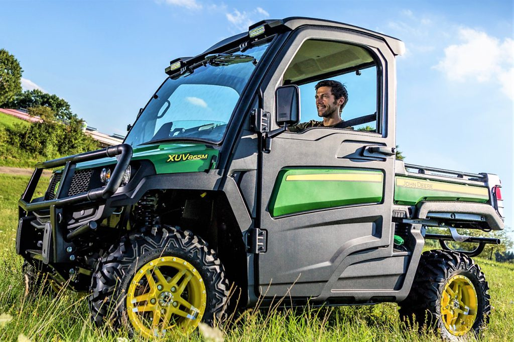 John Deere Gator >> 'Watch out for the gators': John Deere to expand Gator range - Agriland