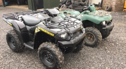 Quads and trailer stolen from dealership