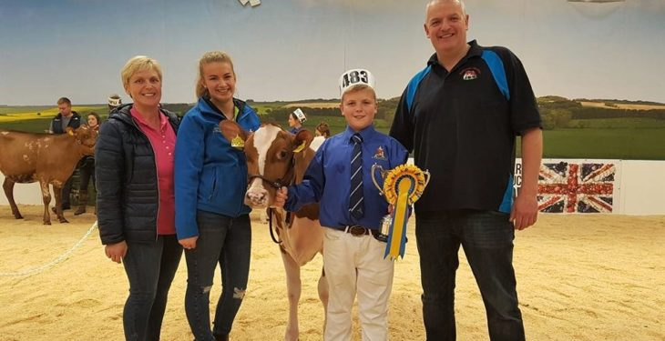 Antrim heifer scoops sought-after show title in the UK