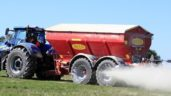 First look: Bredal's latest trailed spreader has discs mounted on arms – 6m apart