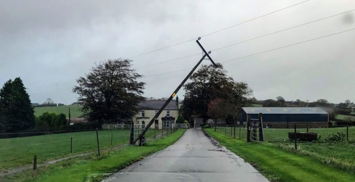 Ophelia: NI and GB damage estimated to cost up to £10m