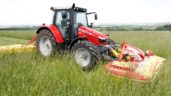 High-tech: This 'observant' mower can automatically avoid wildlife