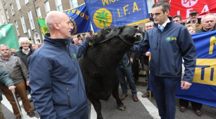 Pics: Farmers are being 'thrown to the wolves' in Mercosur deal