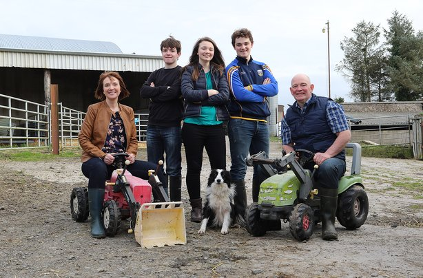 The Shalvey family featured on RTE's Big Week on the Farm