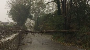 Status Red wind warning issued for Co. Clare as Storm Hannah approaches