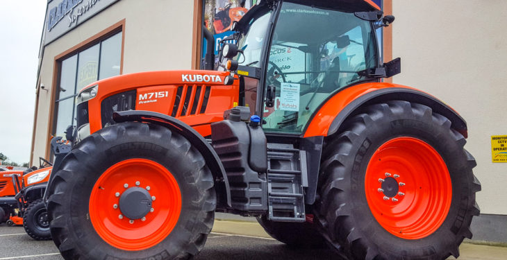 Pics: Kubota brings the 'factory' to farmers…here in Ireland