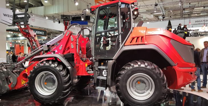 Pics: A closer look at Weidemann's new, contractor-sized loader