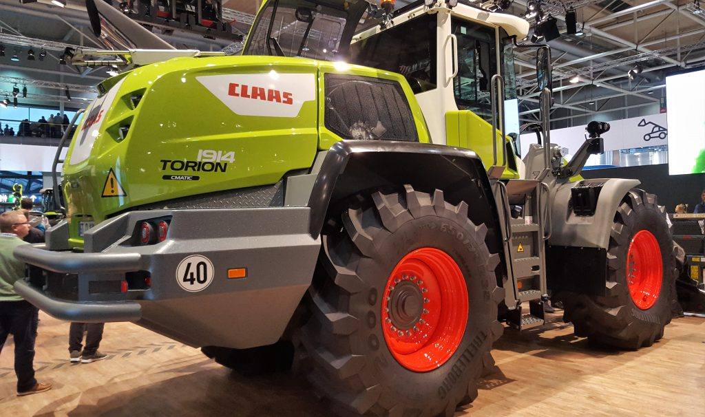 Agritechnica Claas Torion