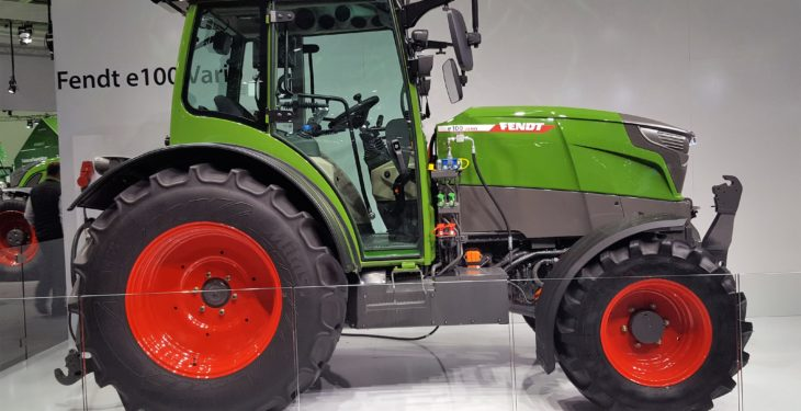 Fendt switches the diesel tank for a plug at Agritechnica