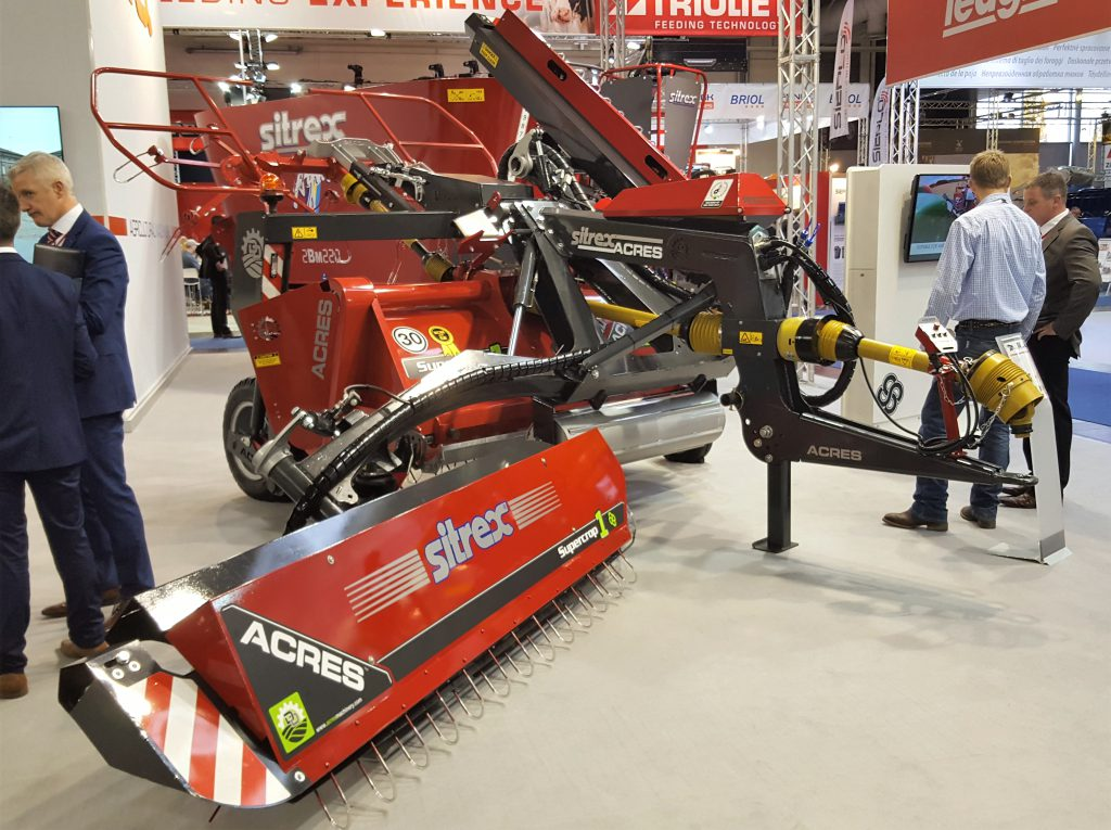 Roscommon man's '3-in-1' machine turns heads at Agritechnica