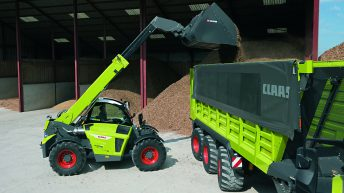Pics: Check out this new 'Claas' telehandler – courtesy of Liebherr