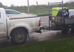 4X4 driver towing a trailer to be prosecuted after multiple defects detected