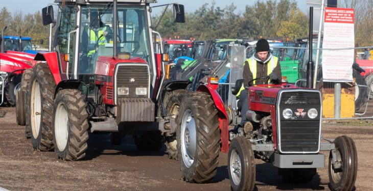Auction report: Fit to see 'red' at this monster tractor sale?
