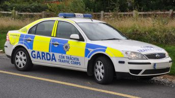 Man hospitalised following collision involving tractor