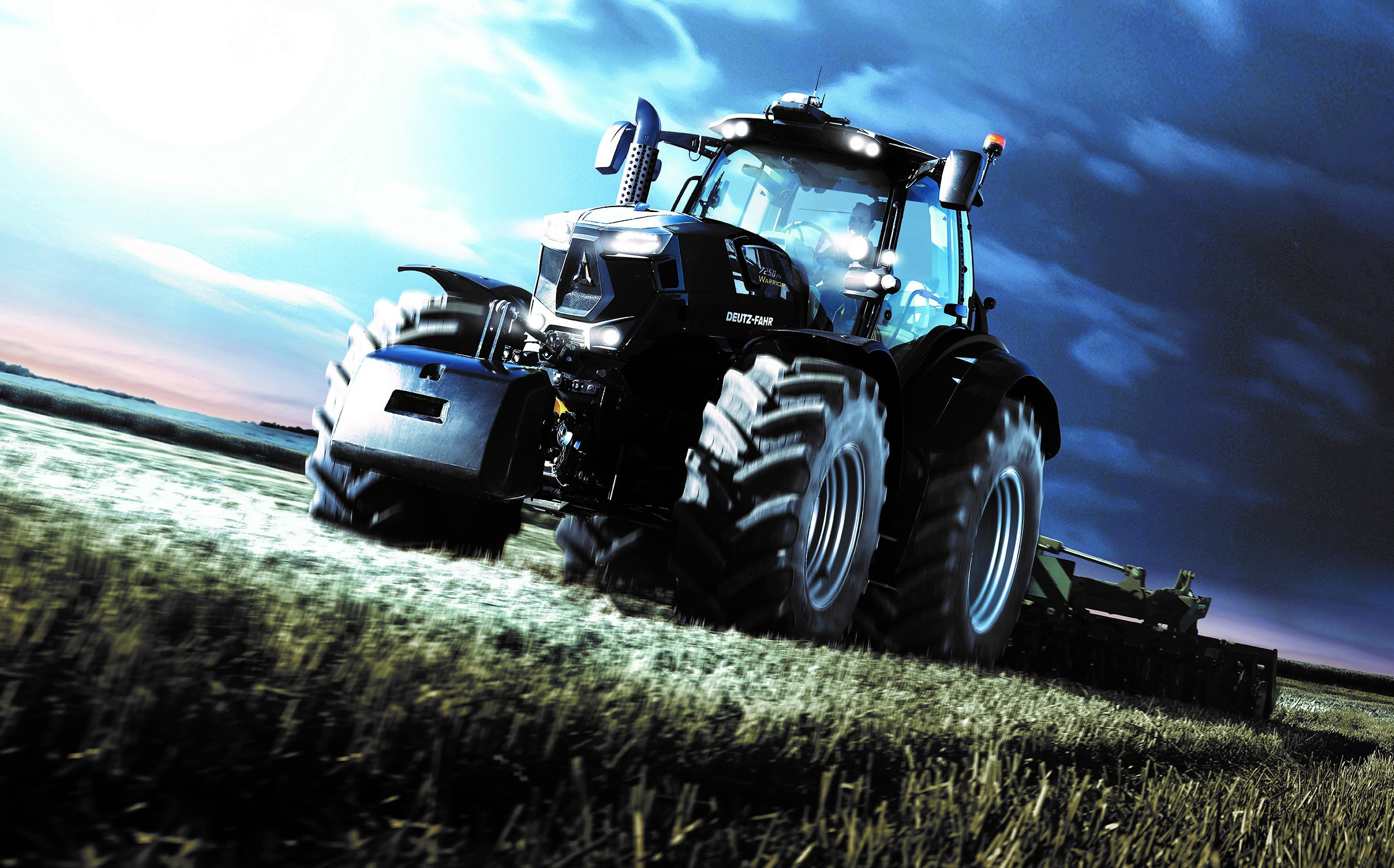 Deutz-Fahr muscles in…with new, 'limited-edition' monsters