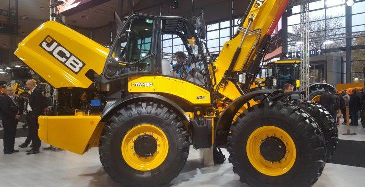 JCB brings beefed-up, pivot-steer telehandler to Agritechnica