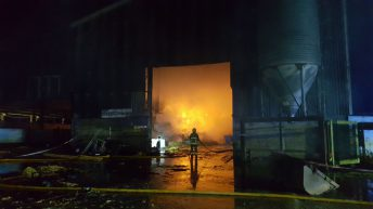 'Rare Breed' farmer loses straw and machinery in major shed blaze