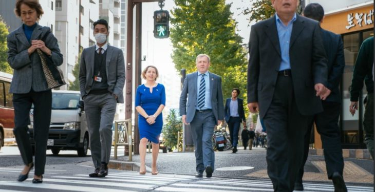 Creed raises global challenge of rural depopulation with officials in Tokyo