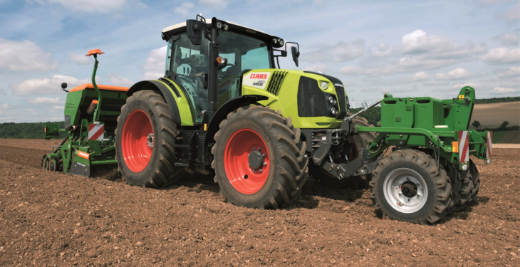 Pics: Package of updates for 4-cylinder Claas workhorses