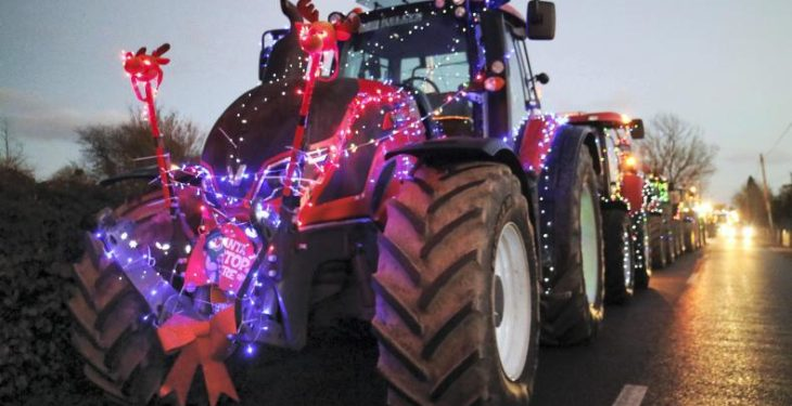 Typical farmers' reactions to 11 popular Christmas songs