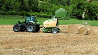 Fresh look for updated Krone round balers