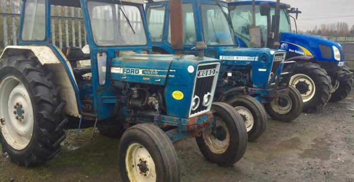 Auction report: Portlaoise sale pulls the machinery punters