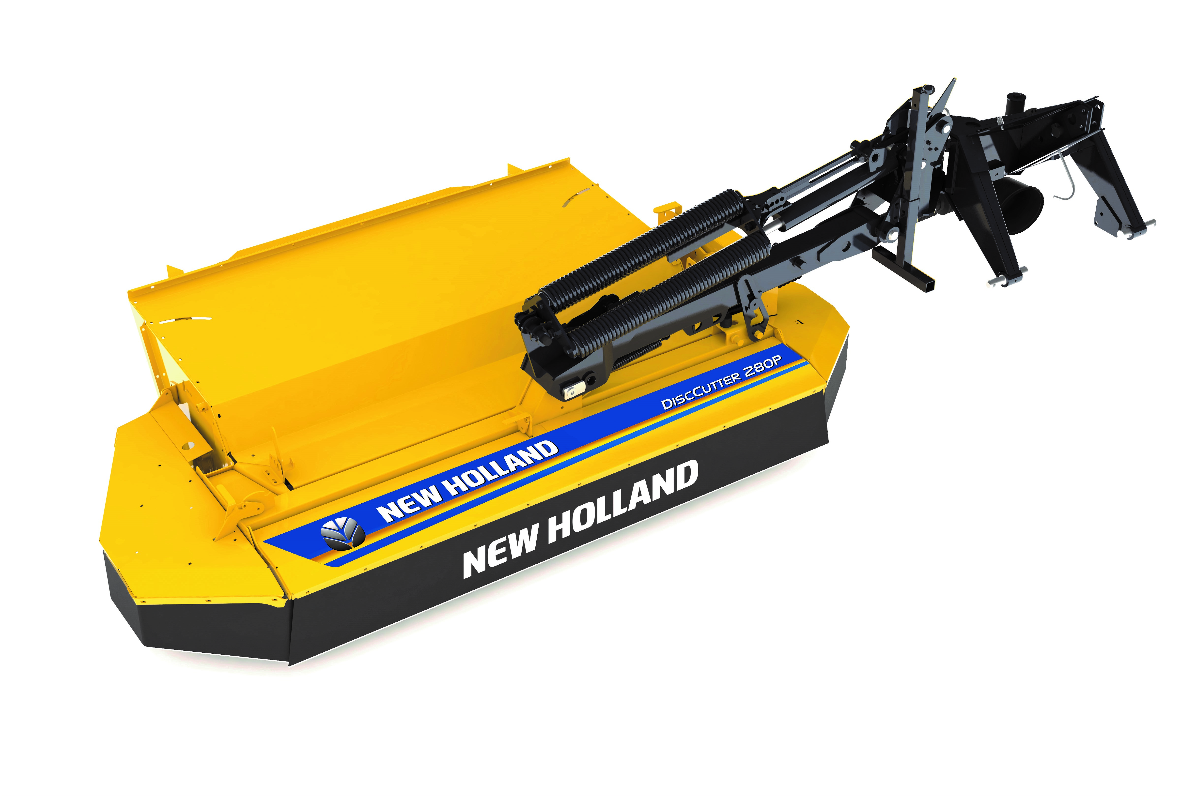 Pics: New Holland unveils mowers and ploughs - courtesy of
