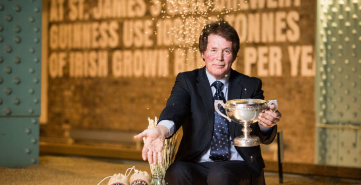 Laois farmer crowned Guinness 'grower of the year'