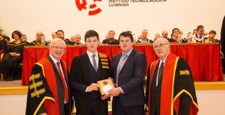 Wexford student impresses with agri machinery project award win