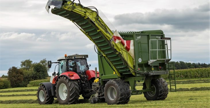 Unload on-the-move: This new silage wagon never stops
