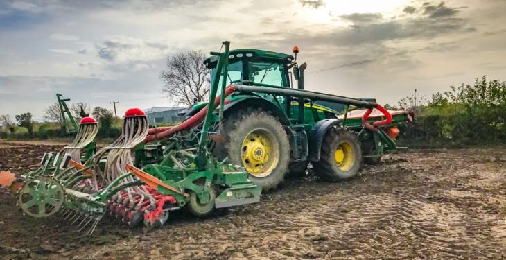 Tillage focus: Sowing winter wheat beside the M50