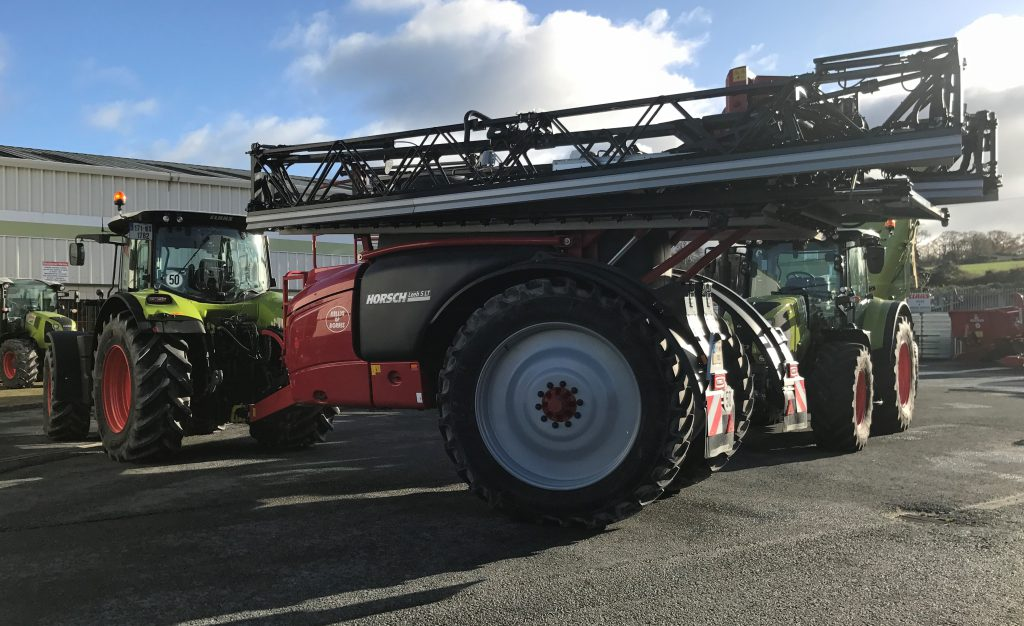 What's the big deal with this Horsch sprayer? - Agriland ie