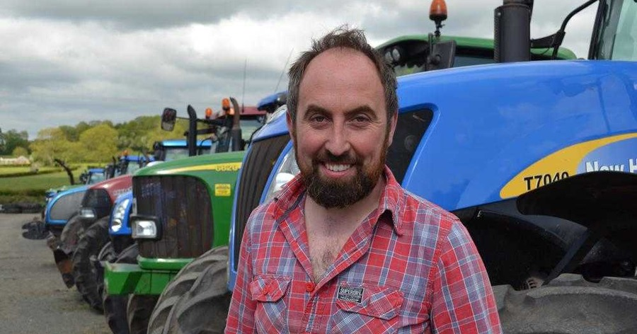 Randalstown farmer James Alexander lost his winter straw and hay in a farm fire