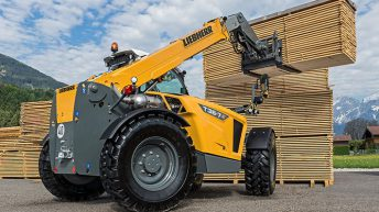 Latest Liebherr telehandlers to get a 'Claas' makeover?