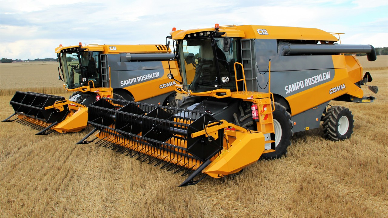First look: Finnish firm revamps its combine harvesters