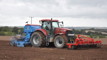 Winter planting: The drills are out in force