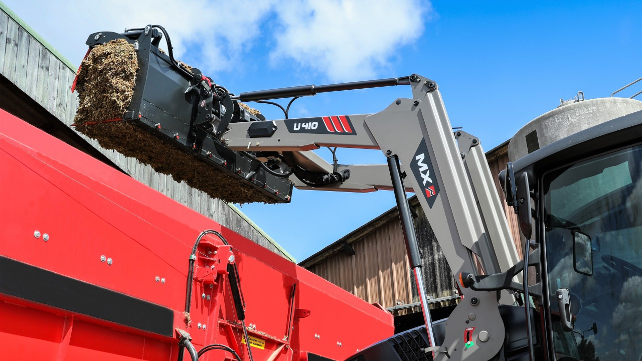Would this new front loader be a stretch at Agritechnica?