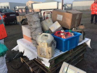 Lorry full of 'vet meds' collected at Listowel waste collection