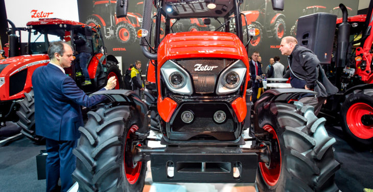 Zetor embarks on €550 million Russian tractor deal