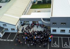 Over 200 people attend the official opening of FRS Network's new offices