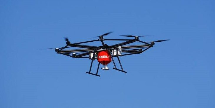 Here it comes: This drone can spread your fertiliser