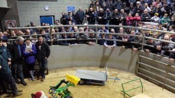 Farmers raise hands to dig deep for charity's biggest fundraiser
